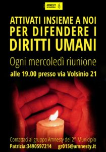 Amnesty International gruppo 015