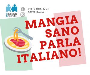 Mangia Sano Parla Italiano